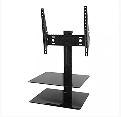 d3d3a5d7cf Amazon.com: AVF ESL422B-T Tilt and Turn TV Mount with 2 AV Shelves, and  Cable Management System for 25-Inch to 47-Inch TV - Black: Home Audio &  Theater