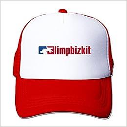 A W Limp Bizkit Nu Metal Band Red Adjustable Snapback Hat Caps Apparel 52f4e4e52753