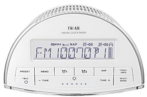 Sangean RCR-9 AM/FM-RDS Tuning Clock
