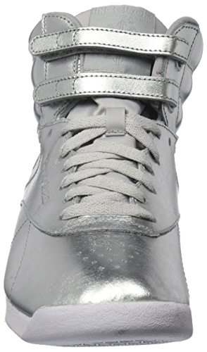 Metsteelwhite silver Reebok De Fitness F Chaussures Femme Argent Hi s 8z8Aq