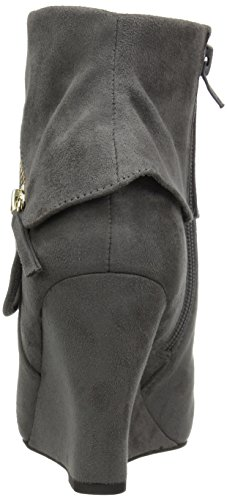 ZIGI SOHO Women's Karlie Ankle Bootie Grey 8vXV1