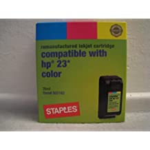 Staples compatible with HP 23 color