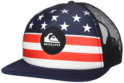 Quiksilver Men's FAZERS HAT, Navy Blazer, ()