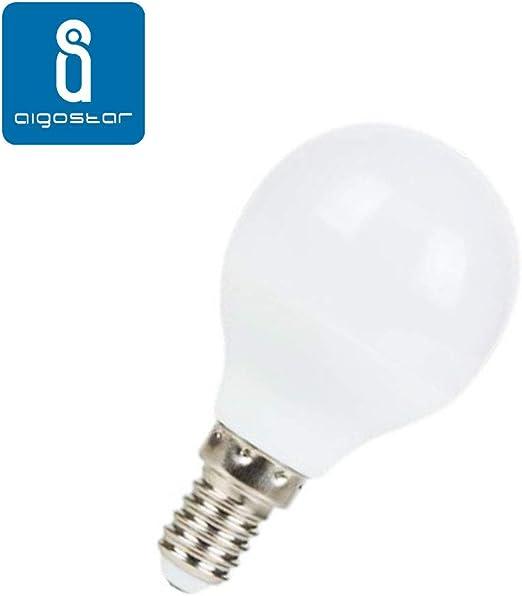 Pack 5 Bombillas Aigostar 17553 LED A60 E14 9W Bombilla LED 765 Lumen Luz blanca fría 6400K Ángulo 280° [Clase de eficiencia energética A+] [Clase de eficiencia energética A+]: Amazon.es: Iluminación