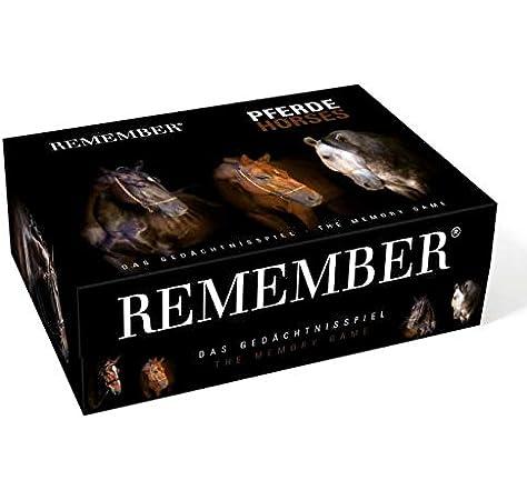 Remember- Pferde 44 Caballos en Caja magnética, Multicolor, 15,8 x 21,6 x 7,5 cm (MEM02): Amazon.es: Juguetes y juegos