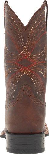 Ariat Mens Sport Bred Fyrkantig Tå Western Cowboy Boot, Leriga Flod Mocka, 11 D Oss nödställda Brun