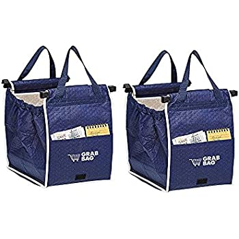 Amazon.com: Original Authentic Grab Bag Reusable Grocery Bag, 2 ...