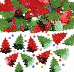 Tree Christmas Embossed - Amscan Christmas Tree Embossed Metallic Mix 14g