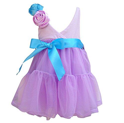 Coolbiz Girl'S Halter Dress Lavender