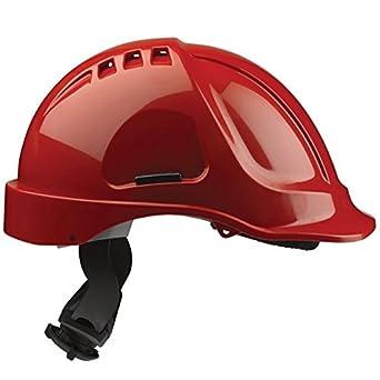 Scott seguridad hc635/VR/CSB - casco con ventilación, Predrilled, para 4