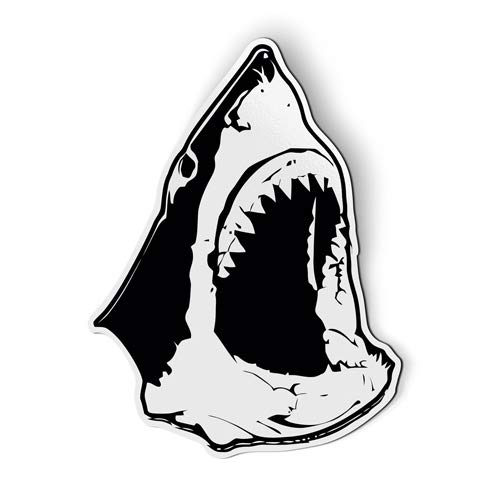AK Wall Art Jaws Inspired Shark Head - Magnet - Car Fridge Locker - Select - Shark Magnet