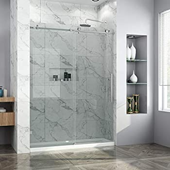 Elegant 60 Quot W X 34 Quot D X 72 Quot H Sliding Glass Shower Door 3