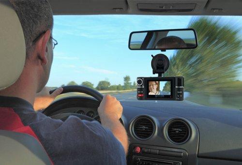 "inDigi NEW! 2.7"" TFT LCD Dual Camera Rotated Lens Car Securi"