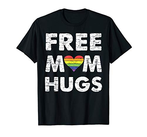 - free mom hugs t-shirt LGBT