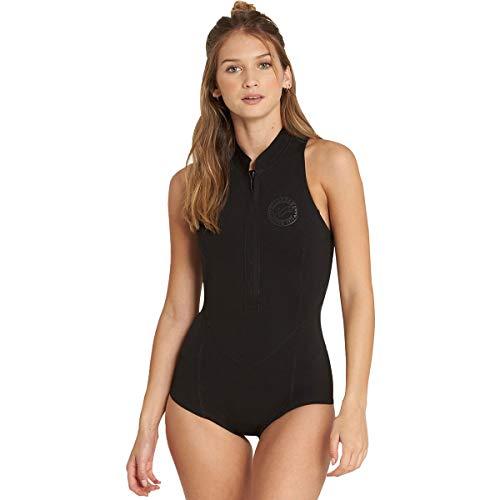 Billabong 1mm Sleeveless Front Zip Women s Sleeveless Wetsuits - Black   6 3b6c92faf