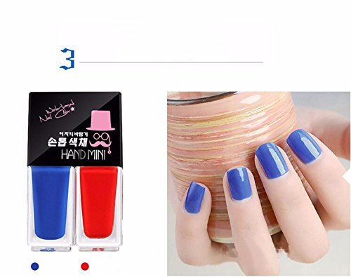 Buy Sellify 2 Pcs 1 Set Korean Nail Polish Suit Nude Waterborne Peelable Hand Tearing Nail Polish Tasteless Nail Art 5ml 2 Zjy23 Online At Low Prices In India Amazon In