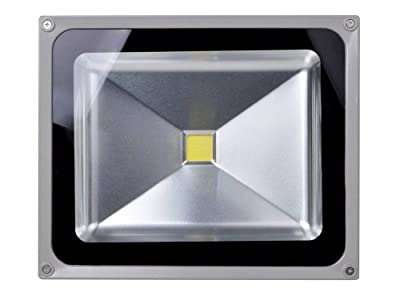 TMS® 50W White High Power Outdoor LED Spotlight Landscape Garden Lawn Spot Flood Lamp