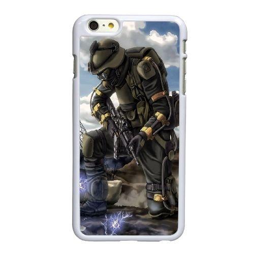 Y7S73 harceleur Y2G5SG coque iPhone 6 Plus de 5,5 pouces cas de couverture de téléphone portable coque blanche RX5LNO2DE