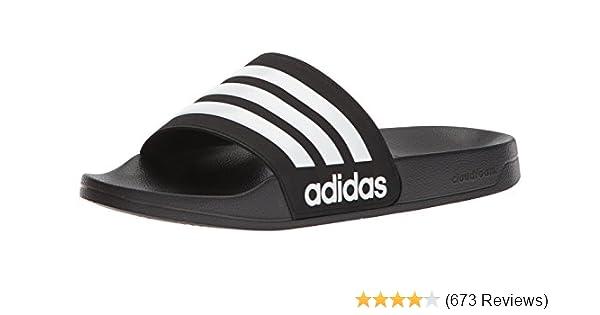 premium selection b7e46 ba2a9 Amazon.com  adidas Originals Mens Adilette Shower Slide Sand