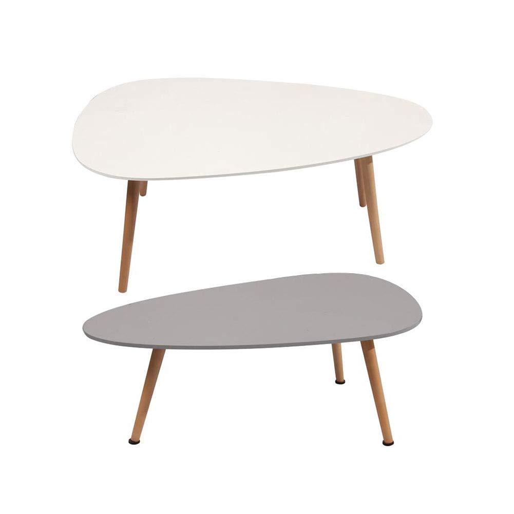 テーブルチェアセット 表 側 終わり コーヒー ダイニング ランプ 表 セット 固体 パイン 脚 組み合わせ CJC (色 : Combination)  Combination B07GPQ8M5Y