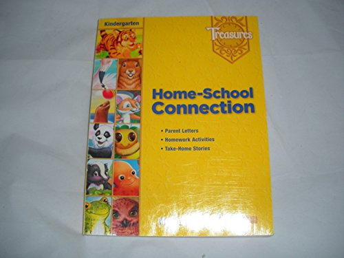 Macmillan McGraw-Hill Treasures Home-School Connection Kindergarten Level