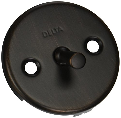 Delta Faucet RP31555RB Overflow Plate and Screws, Venetian Bronze