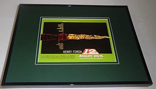 12 Angry Men Framed 11x14 Repro Movie Poster Display Henry Fonda Ed Begley