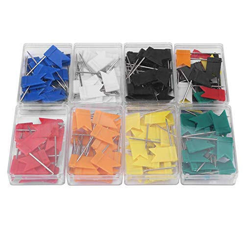 - Sewing Tools & Accessory - 160pcs Colorful Flag Shape Map Pins Thumb Tack Drawing Home School Office Stationery - Tent Case Cream School Sew Toy Long Diesel Tag Needle World Map House 4 Belt
