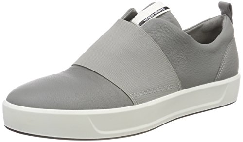 Femme Gris Soft Wild Sneakers Dove Ecco Basses Gris 8 YBqwIp