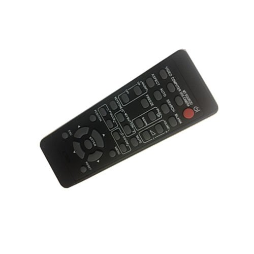 4EVER Replacment remote control for Hitachi CP-X880 CP-X995 CP-HX6300 CP-HX6500 CP-X1230 CP-X1250 CP-AW250NM CP-A3 CP-A221N CP-RX78 CP-RX80 ED-X24 projector by 4EVER E.T.C