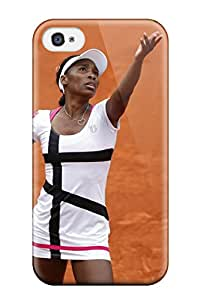 New Style Awesome Design Venus Williams Tennis Hard Case Cover For Iphone 4/4s