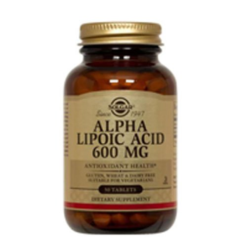 Alpha Lipoic Acid 50 Tabs 3-Pack