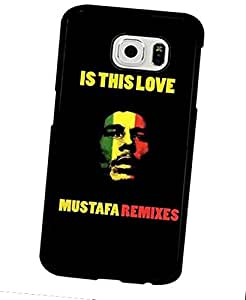 Bob Marley-Singer Protective Thin Plastic Back Funda Case Samsung Galaxy S6 Funda Case & Cover