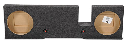 Dual 12 Subwoofer Sub Box Enclosure for 2004-2008 Ford F150 Xcab or SuperCrew