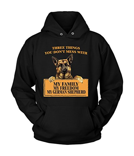 German shepherd Hoodie | German shepherd Cotton Fleece Hoodie | Great Hoodie with a Creative Quote about German shepherd (XL) ()