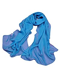 Bestgift womens Elegant Muti-Color Sun Block UV-Cut Fashion Scarf 160*50cm Dark Blue