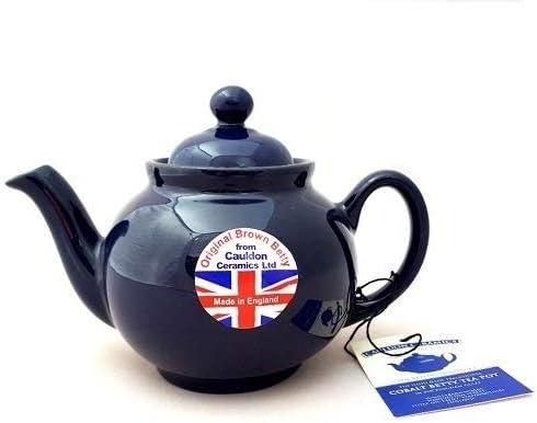 Brown Betty 2 Cup Teapot Cobalt Blue
