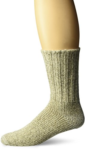 Fox River Norsk Ragg Wool Crew Socks, BROWN TWEED, Medium