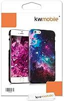 kwmobile Funda para Apple iPhone 6 / 6S - Carcasa Trasera Protectora para móvil - Cover Duro con diseño galáctico