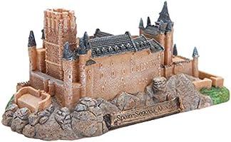 DULU Castillo de Segovia Estatua Resina Artesanía Escultura España Modelos en Miniatura de Edificios Antiguos Recuerdos Coleccionables Decoraciones para el hogar,Brown: Amazon.es: Hogar