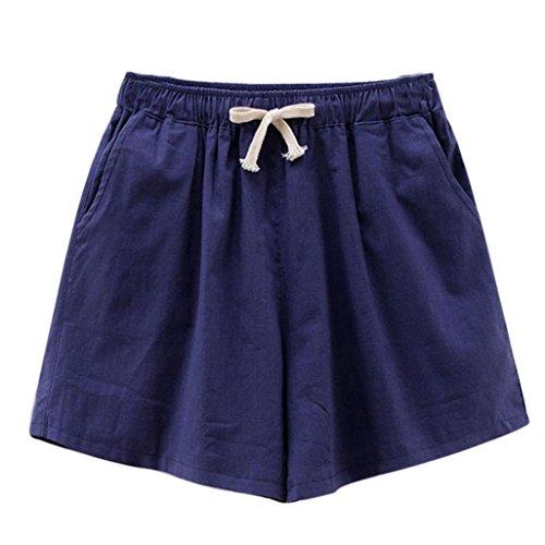 Summer Clearanc!Women's Camouflage Workout Yoga Hot Shorts Drawstring Casual Short Pants by-NEWONESUN