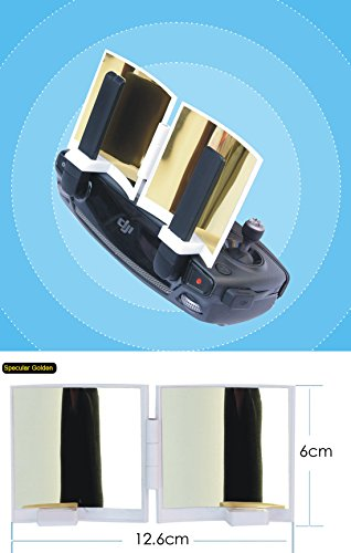 Rephy Remote Control Signal Extender Amplifier Antenna Range Booster For Dji Mavic Pro Gold