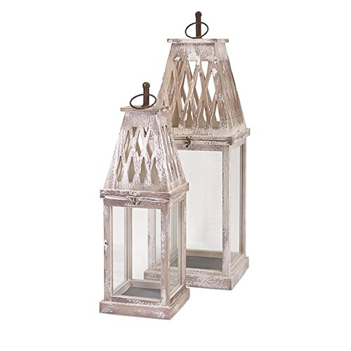 IMAX 89361-2 Ramsey Lanterns (Set of 2) by Imax
