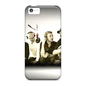 New Tpu Hard Case Premium Iphone 5c Skin Case Cover(cold Play Recording)