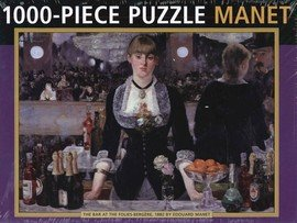 Manet 1000 Piece Jigsaw Puzzle - The Bar at the Folies-Bergere by Edouard Manet