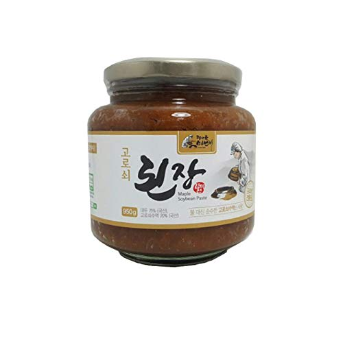 - Korean Traditional Organic Fermented Miso Soybean Paste 33.5oz / 950g No Preservative K-foods [된장]