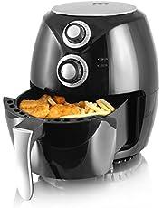 """Emerio AF-112828 heteluchtfriteuse, Airfryer, Smart Fryer, test""""GUT"""", frituren zonder olie, 3,6 liter volume, 1400 watt,"""