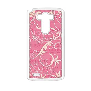 cute pink cirrus personalized high quality cell phone case for LG G3 by Maris's Diaryby Maris's Diary
