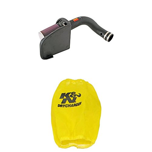 Acura Integra K&n Air Filter - K&N 57-3509 Performance Air Intake System with Yellow Air Filter Wrap
