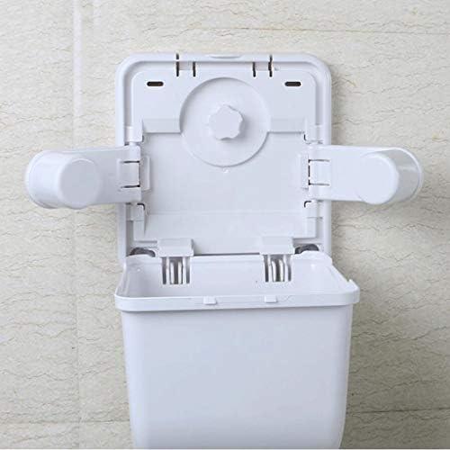 SCZJH トイレットペーパーボックス、トイレットペーパー吸盤防水トイレットペーパータオル掛け (Color : A)